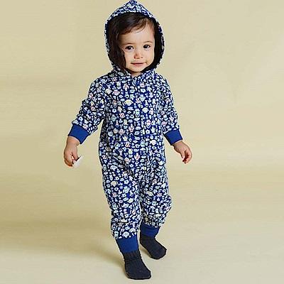 Baby unicorn 下午茶連帽長袖連身衣