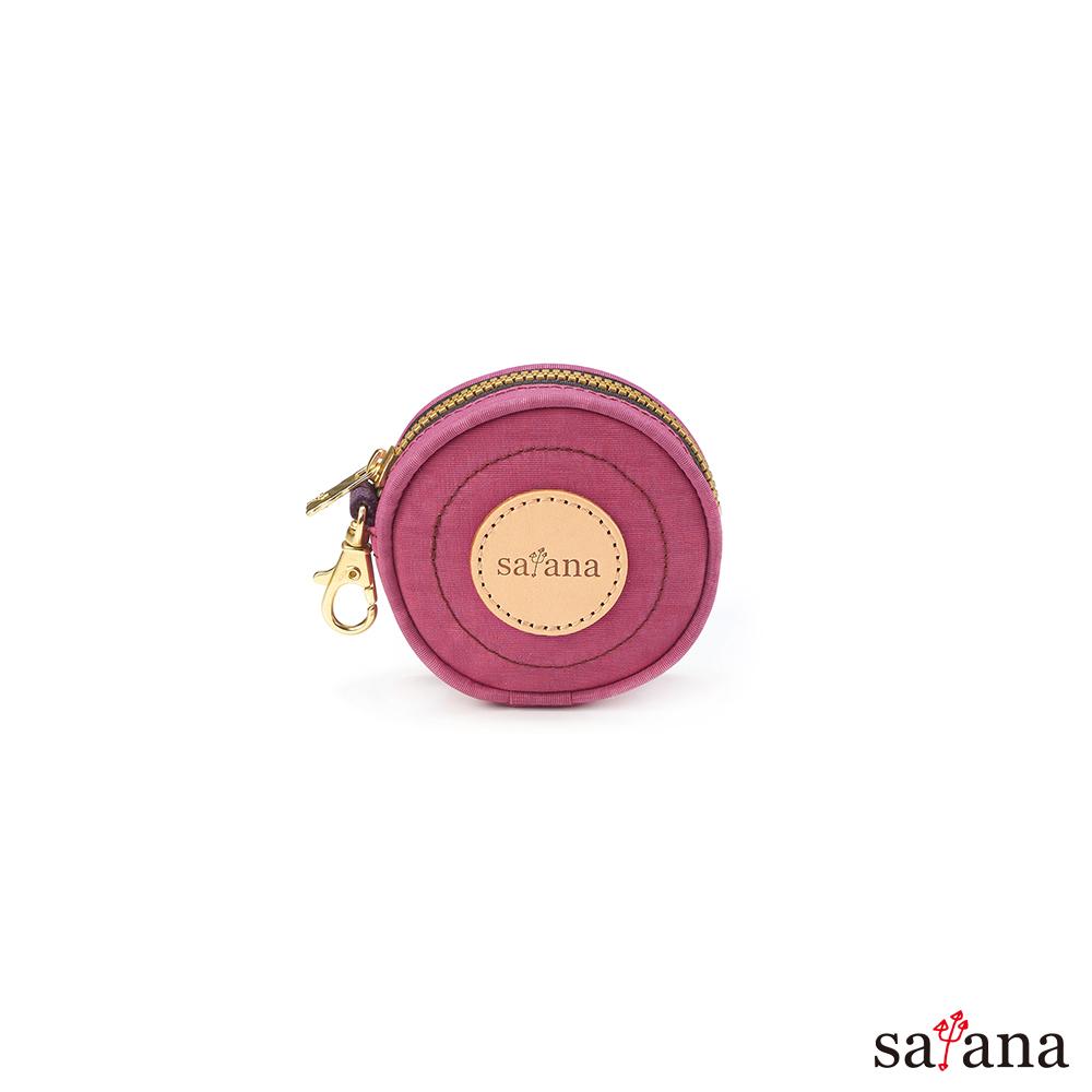 satana - 呼嚕嚕萬用包 - 霧紫紅