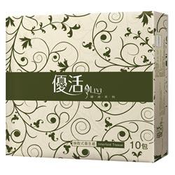優活抽取式衛生紙(100抽x10包)
