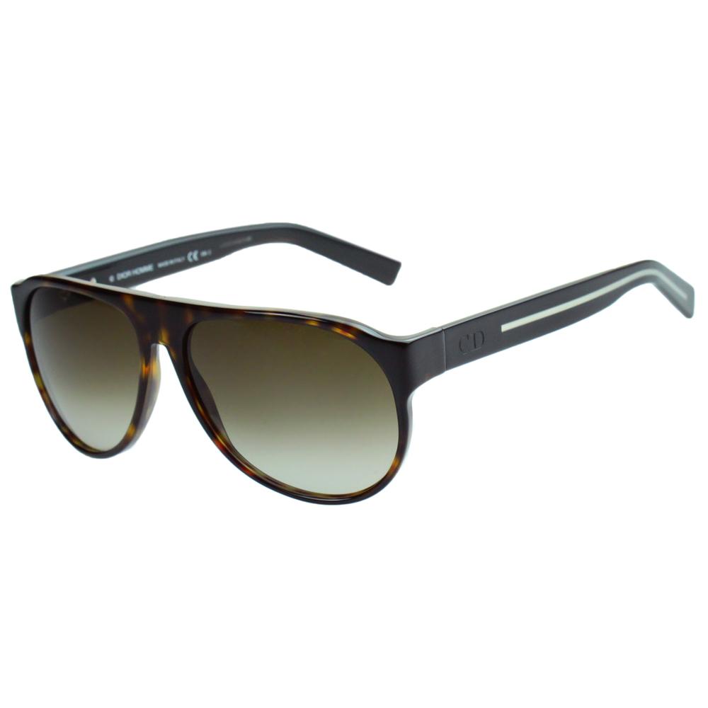 Dior Homme-時尚太陽眼鏡琥珀色