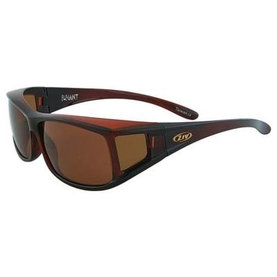 ZIV運動太陽眼鏡 外掛眼鏡系列/褐#S100013