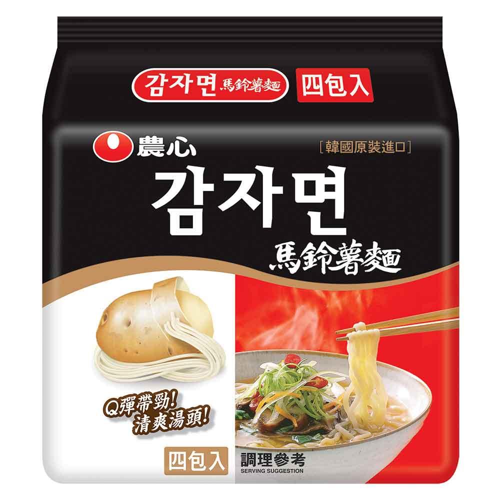 農心 馬鈴薯麵(100gx4入)