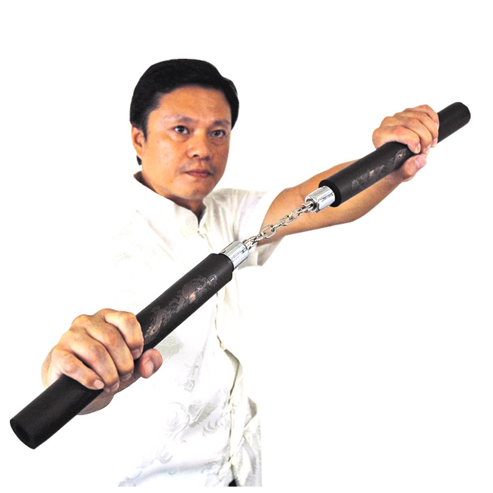 輝武-武術用品~台灣製造高密度泡棉雙節棍~防身習武首選(一入)