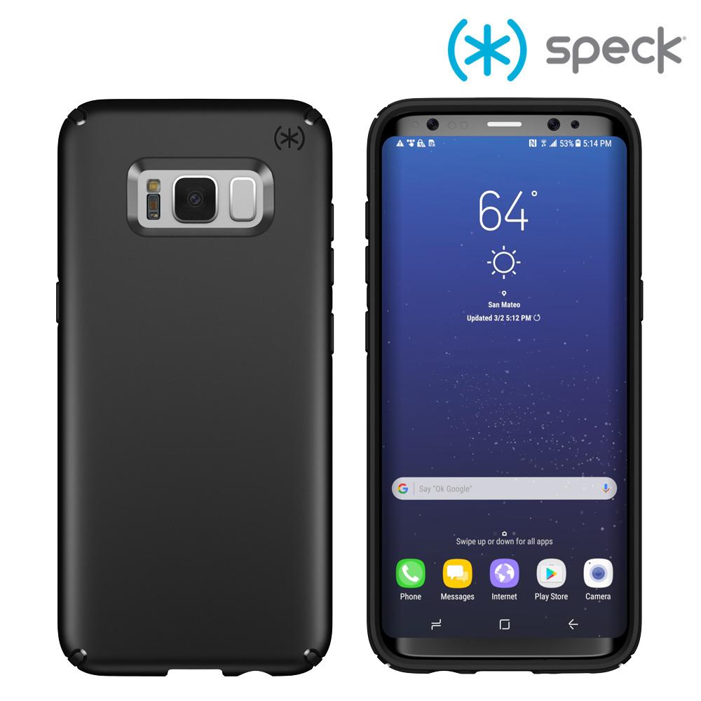 Speck Presidio 三星 Galaxy S8 霧面黑色防摔保護殼