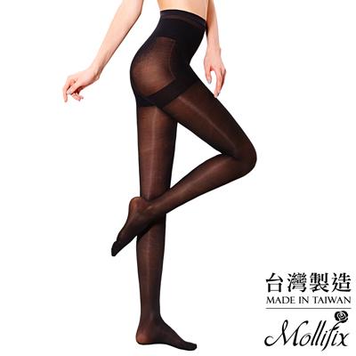 Mollifix-踮腳尖極塑緊緻塑身襪-黑