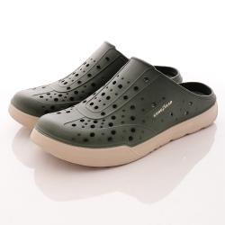 GOODYEAR-懶人水陸鞋-SE3805綠米(男段)