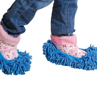 iSFun 清潔妙手 纖絨毛除塵鞋套