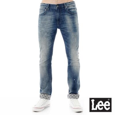 Lee 牛仔褲 706低腰合身窄管牛仔褲/RG-男款