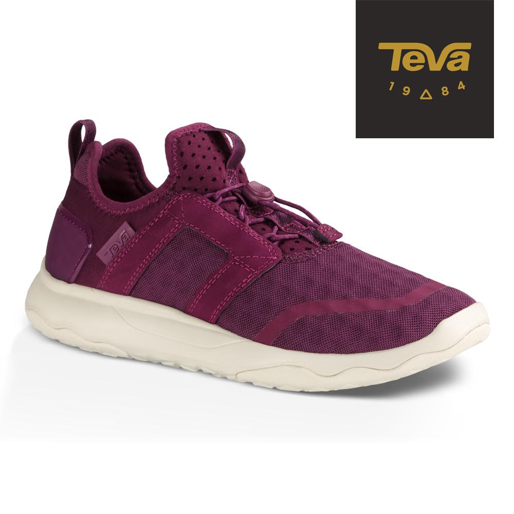TEVA 美國 女 Arrowood Swift Lace 輕量休閒鞋 (紫)