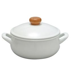 野田琺瑯 POCHKA系列雙耳鍋 - 20cm