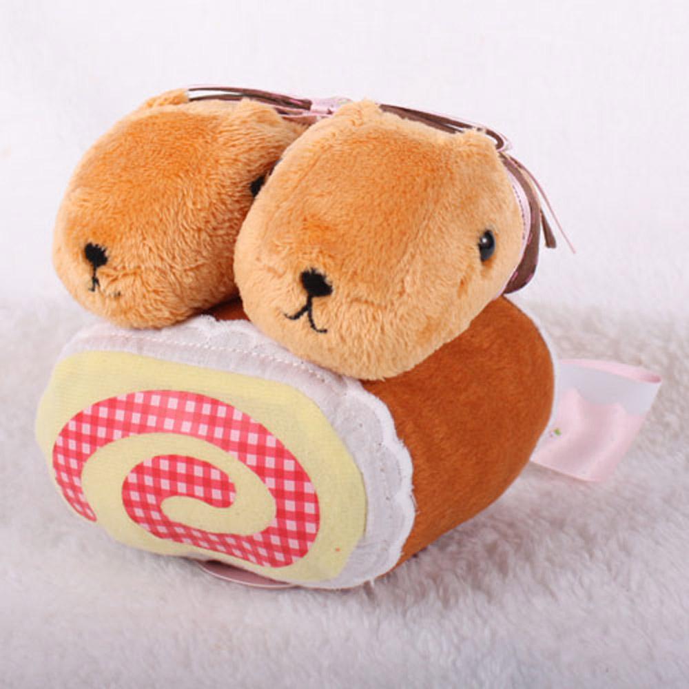 Kapibarasan 水豚君草莓系列親子絨毛公仔