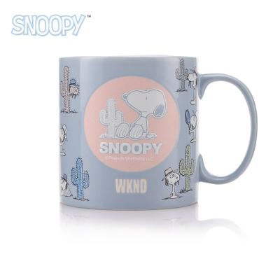 SNOOPY史努比 清漾立體浮雕馬克杯550ml(8H)