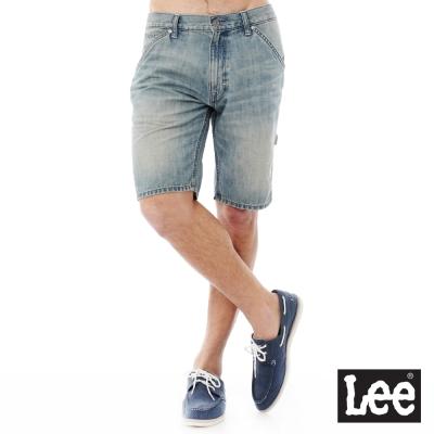 Lee Regional牛仔短褲-男款-淺藍色