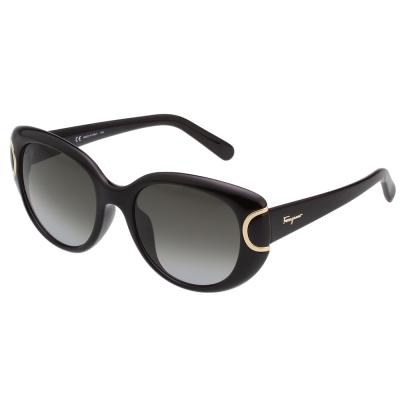 Salvatore Ferragamo  太陽眼鏡 (黑色)SF853SK