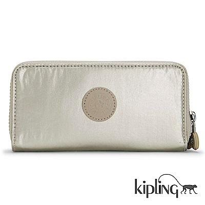 Kipling 長夾 銀河素面-小