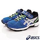 asics競速童鞋 LAZERBEAM款 EI19N-4293藍(中大童段)