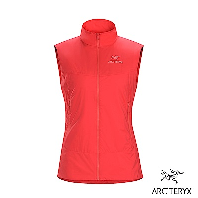 Arcteryx 女 Atom SL 化纖保暖防潑水背心 亮紅