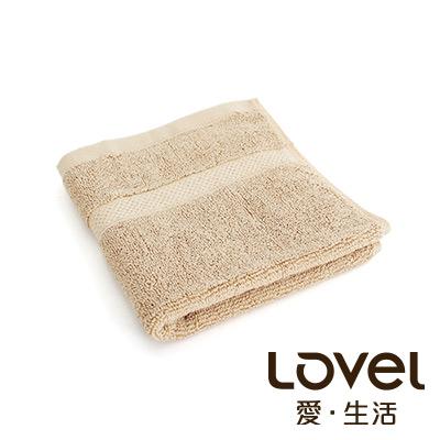 Lovel 嚴選六星級飯店素色純棉方巾(共5色)