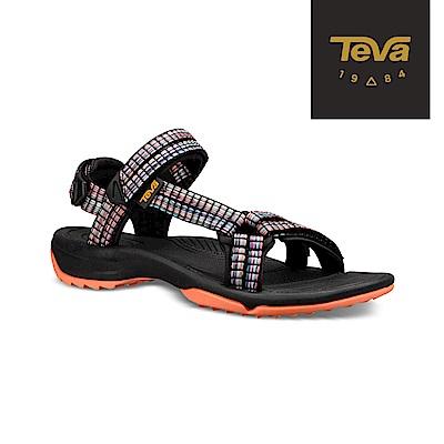 TEVA 美國 女 Terra Fi Lite 水陸機能涼鞋 編織橘