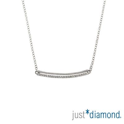 Just Diamond Rosy Dream 18K金鑽石項鍊