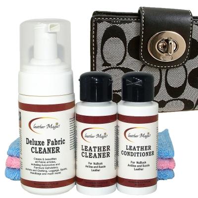 皮革魔法師-COACH 織布小型皮件清潔保養組