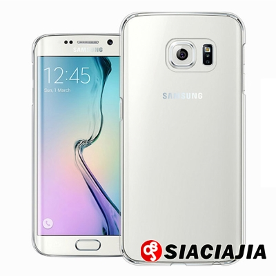 水樣 Samsung GALAXY S6 Edge 透明硬殼100%透明