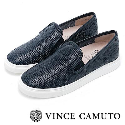 Vince Camuto 潮流休閒百搭平底懶人鞋-藍色