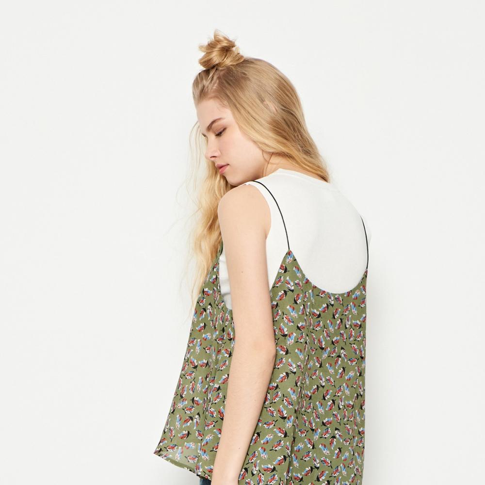 CACO-簡約無袖針織背心(四色)-女