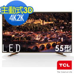TCL 55吋 4K Smart 3D LED液晶TV