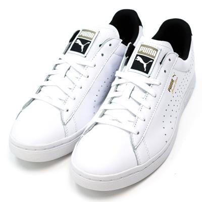 PUMA-CRFTD男復古網球鞋-白黑