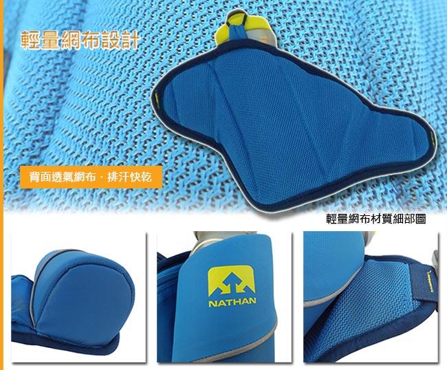 NATHAN Triangle(650ml) 水壺腰包 藍