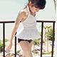 天使霓裳 沁甜寶貝 氣質小童泳裝系列(白M~XL) product thumbnail 1