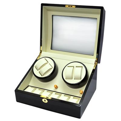 WISH 機械腕錶自動上鍊盒‧10只裝-黑