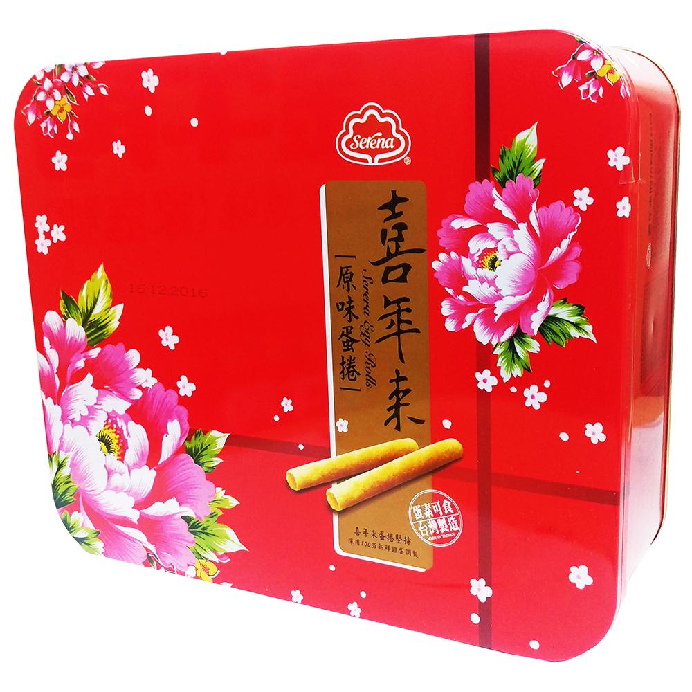 喜年來 新大方原味蛋捲禮盒(384g)