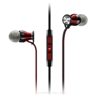 SENNHEISER MOMENTUM In-Ear i 線控耳道式耳機(紅/黑)