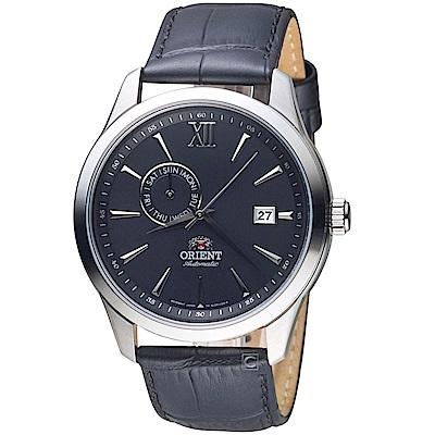 ORIENT東方錶Classic Design系列簡約日期機械錶(FAL00005B)