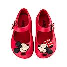 迪士尼 米奇米妮 立體造型娃娃鞋-紅