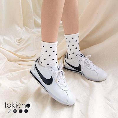 東京著衣 多色可愛細點點長襪(共四色)
