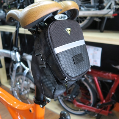 TOPEAK Aero Wedge Pack Large後座墊袋(大型)_黑