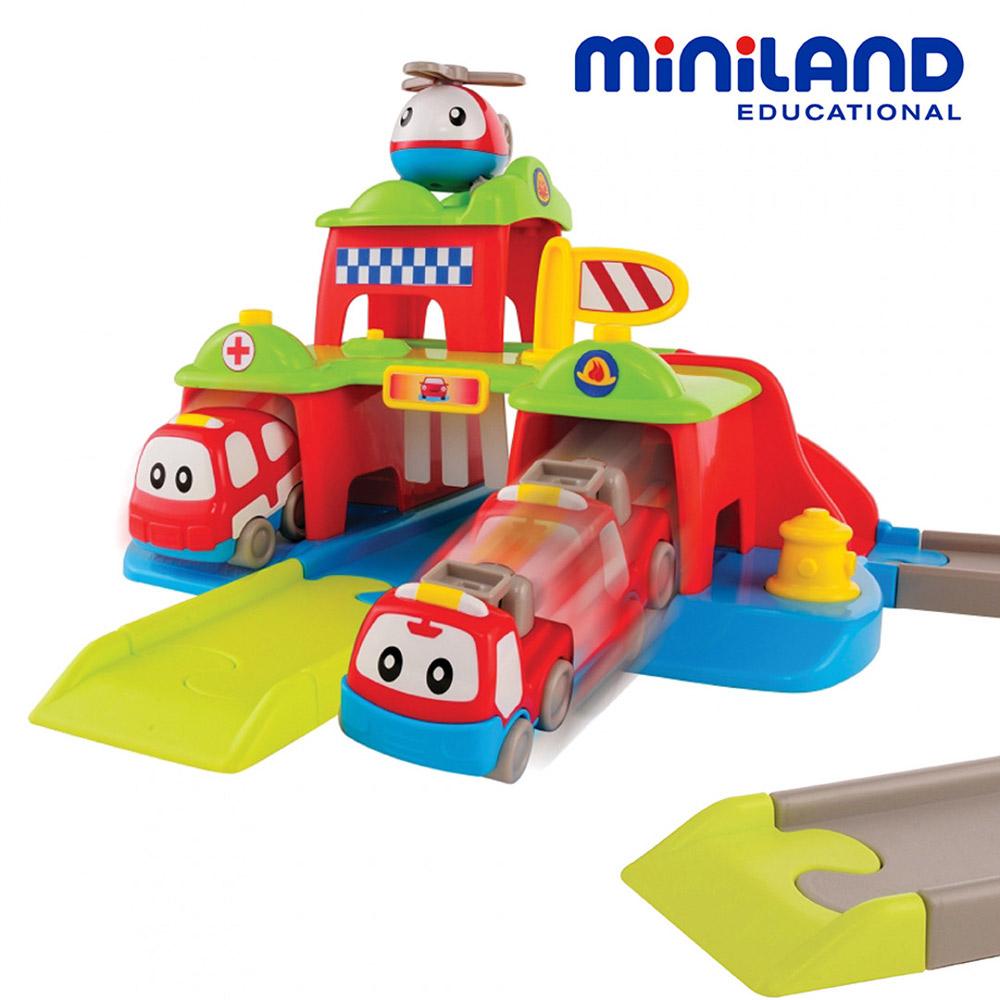 【西班牙Miniland】救護英雄軌道組