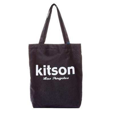 Kitson 經典LOGO購物袋/托特包 黑