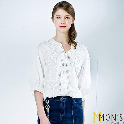 MONS 精緻刺繡質感上衣