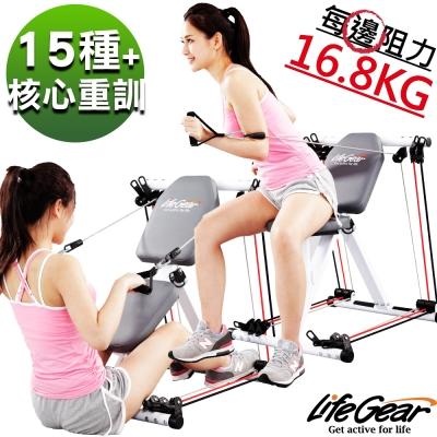 【來福嘉 LifeGear】76500 多核心重量訓練機(多功能力量訓練)