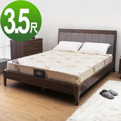 Boden-經典透氣防蹣抗菌獨立筒床墊(軟硬適中)-3.5尺標準單人