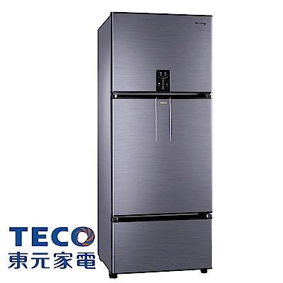 [無卡分期12期]TECO 東元 610公升 變頻三門冰箱(R6181VXHS)