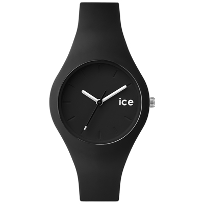 Ice-Watch 波浪系列 繽紛玩美手錶-黑/38mm