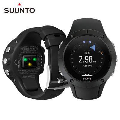 SuuntoSpartanTrainerWristHR全方位訓練的GPS運動腕錶-經典黑