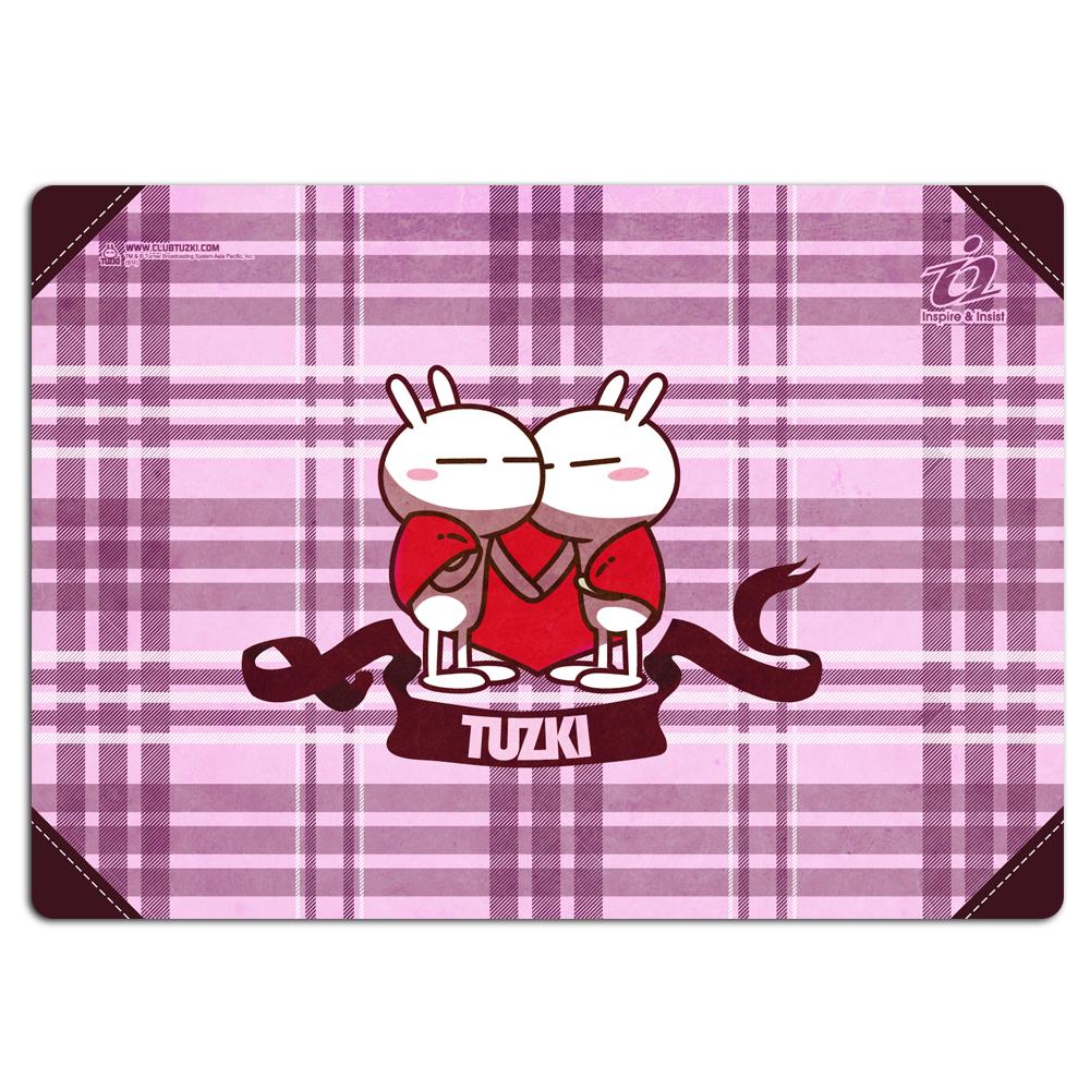 i2艾思奎兔斯基竹炭滑鼠墊--相擁的愛