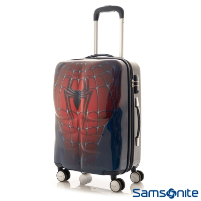 Samsonite新秀麗-26吋Marvel漫威英雄3D立體TSA行李箱-蜘蛛人