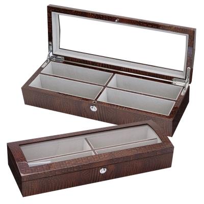 PARNIS BOX 眼鏡盒4只入 鱷魚紋 鋼琴烤漆 獨家限定 禮物 眼鏡01-2 訂製款